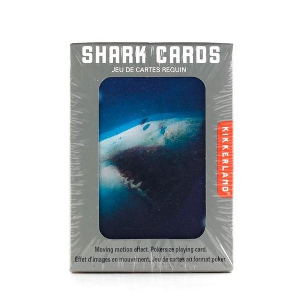 3-D Shark Motion Playing Cards