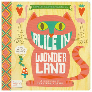 Alice In Wonderland Board Book | The Gifted Type