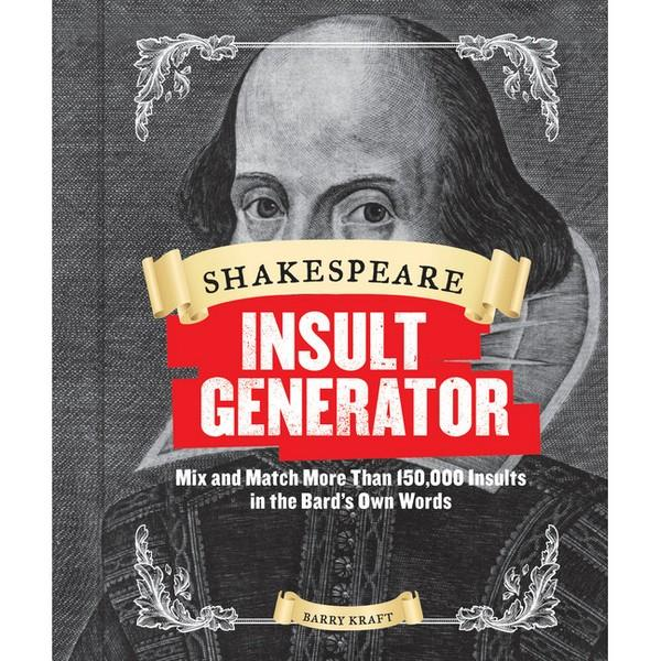 Shakespeare Insult Generator | The Gifted Type