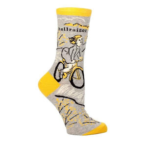 Blue Q Women's Crew Sock Hellraiser | The Gifted Type