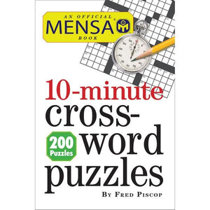 10-Minutes Crossword Puzzles | Crosswords | The Gifted Type
