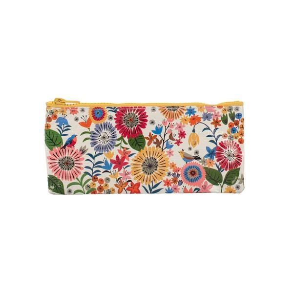Blue Q Pencil Case Flower Field | The Gifted Type