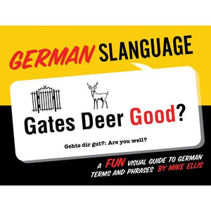 German Slanguage | Travel Books | The Gifted Type