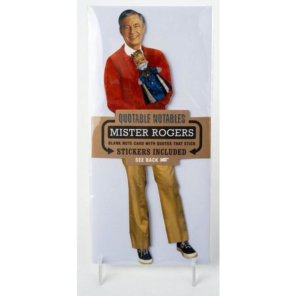 Mister Rogers - Quotable Notable Card