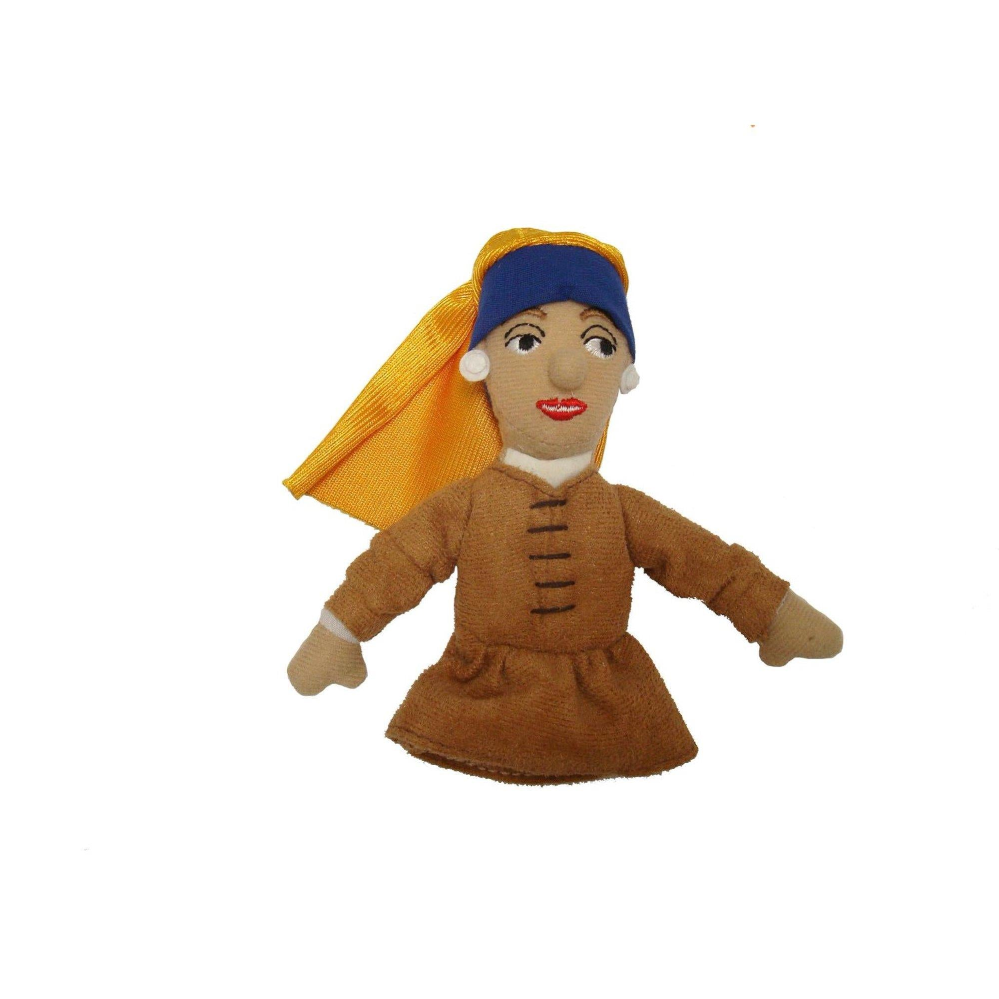 Girl With The Pearl Earring - Magnetic Finger Puppet