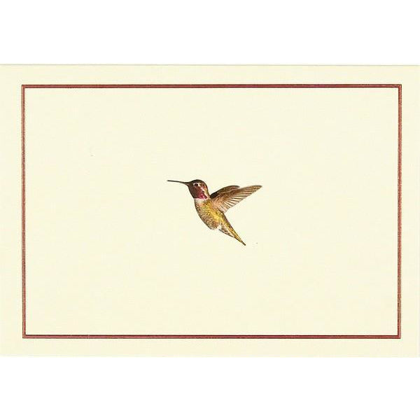 Hummingbird Flight Peter Pauper Blank Notecards | The Gifted Type
