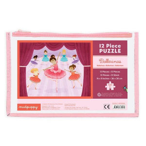 Pouch Puzzle Ballerina | 12 Pieces | The Gifted Type