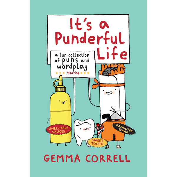 It's A Punderful Life | Humour Books | The Gifted Type