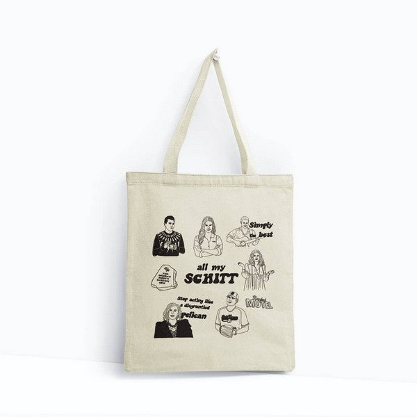 Schitt's Creek - Canvas Tote Bag
