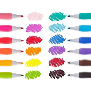 Smooth Hues Markers - Set/12