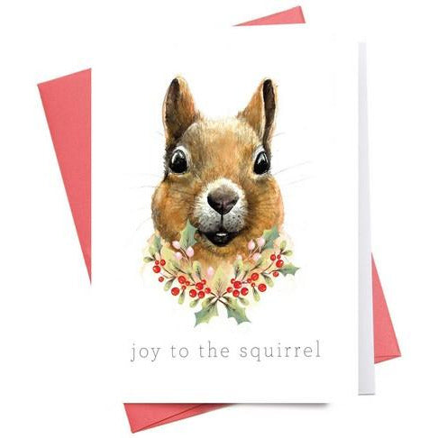 Joy to the Squirrel - WC048