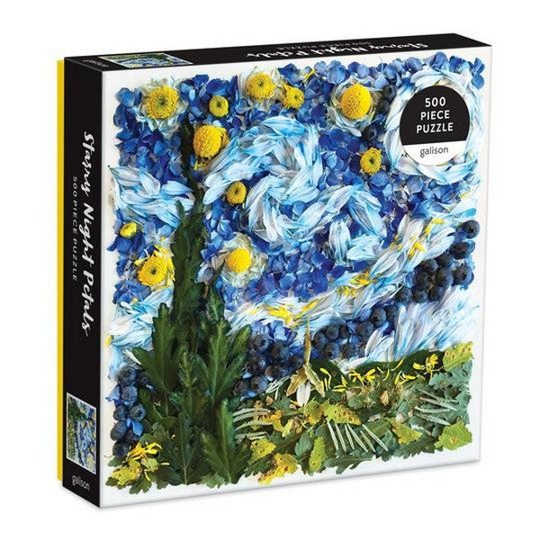 Starry Night Petals - 500 Piece