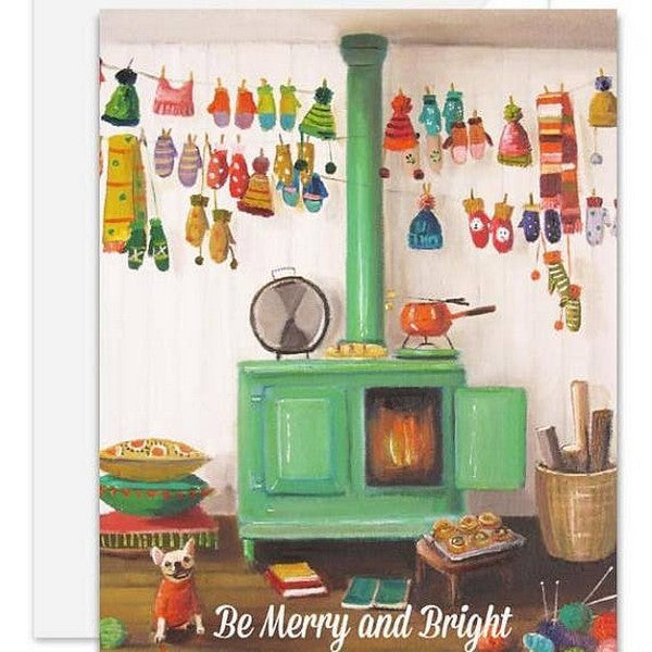 Knitter's Christmas - Boxed Cards