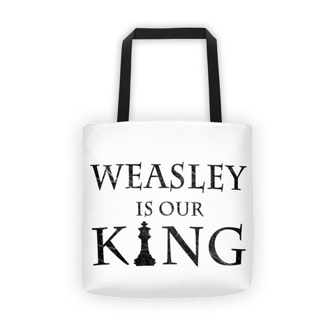 Weasley Is Our King Tote