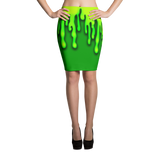 Slime Pencil Skirt
