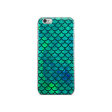 Mermaid Watercolor iPhone case