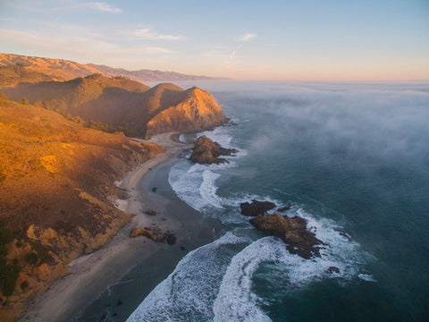 PFEIFFER BEACH FROM ABOVE