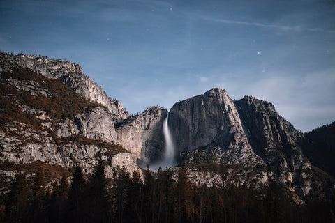 YOSEMITE FALLS AT NIGHT II