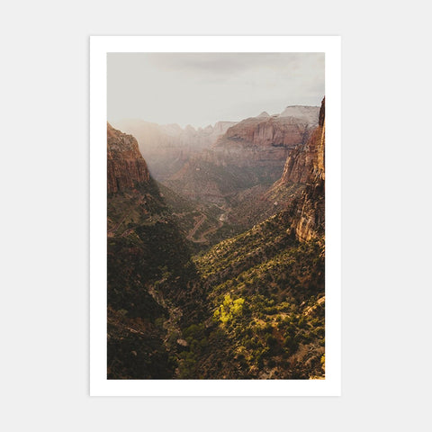CANYON OVERLOOK - ZION