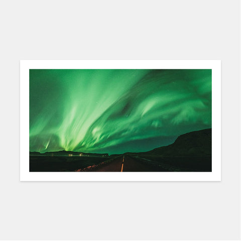 NORTHERN LIGHTS, SOUTH ICELAND II