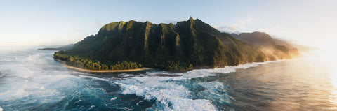 NA PALI COAST PANORAMA