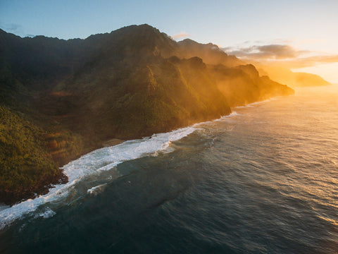 NA PALI COAST AT SUNSET II