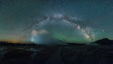 MILKY WAY - YELLOWSTONE NATIONAL PARK