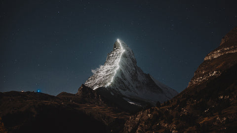 THE MATTERHORN AT NIGHT II