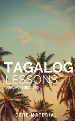 12 one hour Tagalog Lessons