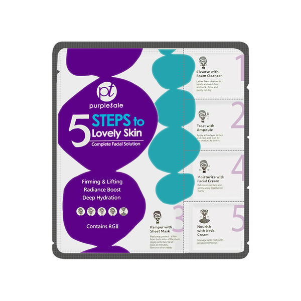 Purpletale 5 Steps to Lovely Skin
