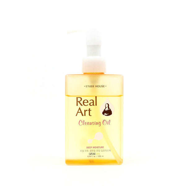 REAL ART CLEANSING OIL MOISTURE (Includes $25 in FREE Sheet Masks)