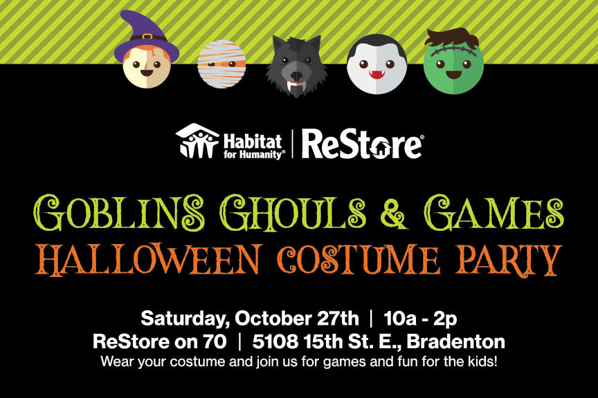 Restore Halloween Party October 27th