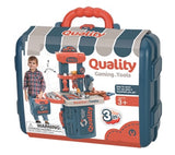 Builder Workbench Playset in a Case, 33 pcs