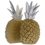 Pineapple Split Bookend Set