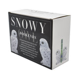 Snowy Owl Bookend Set