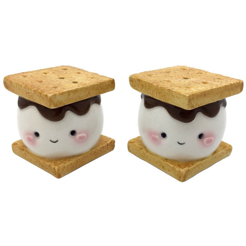 Marshmallow S'more Salt & Pepper Set