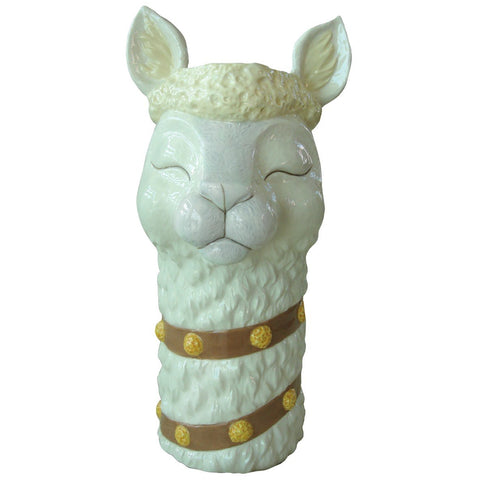 Alpaca Tall Neck Vase
