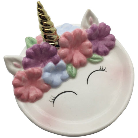 Unicorn Face Trinket Dish