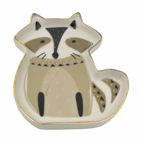 Raccoon Trinket Dish