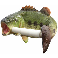 Large Mouth Bass Toilet Paper Holder