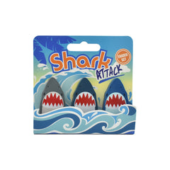 Shark Eraser Set