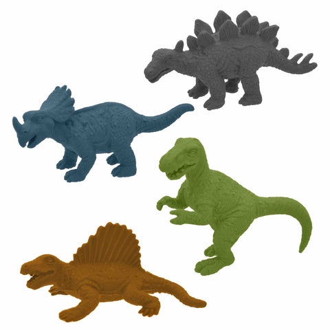 3D Dinosaur Eraser Assortment