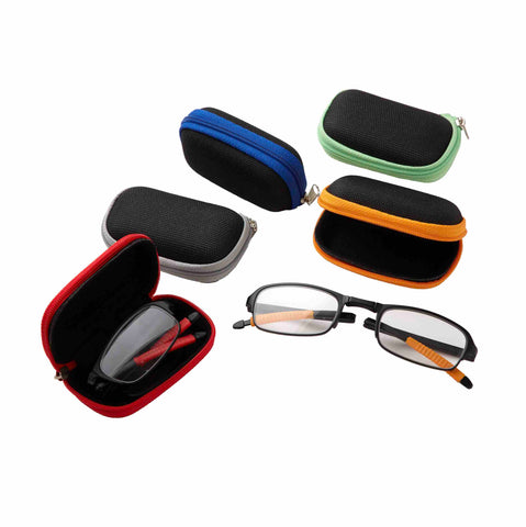 Foldable Reader Eyeglasses with Case