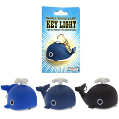 Whale Sound LED Key Light