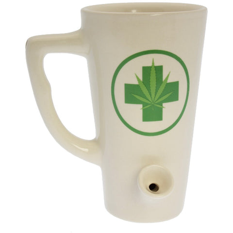 The Green Medic, Tall Wake & Bake Mug