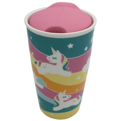 Unicorn Ceramic Travel Mug W/ Lid
