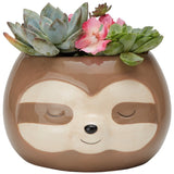 Zen Sloth Planter