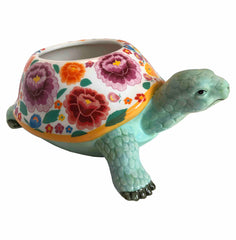 Blooming Turtle Planter