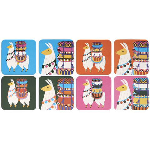 Alpaca 8pc Coaster Set