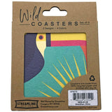 Toucan 8pc Coaster Set